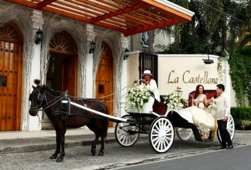 La Castellana caters to only 1 event per day and can accomodate max 300 guests.