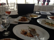 During our final food tasting and detailing last Nov 28