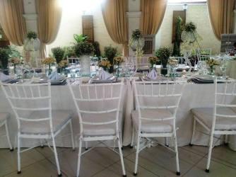 Josiah's VIP Table setup during the September 2015 food tasting fair held at La Castellana setup during the September 2015 food tasting fair held at La Castellana