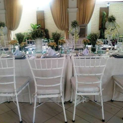 Josiah's VIP Table setup during the September 2015 food tasting fair held at La Castellana setup during the September 2015 food tasting fair held at La Castellana
