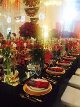 VIP table setting