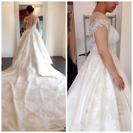 Gown 2nd Fitting Dec 9 2016