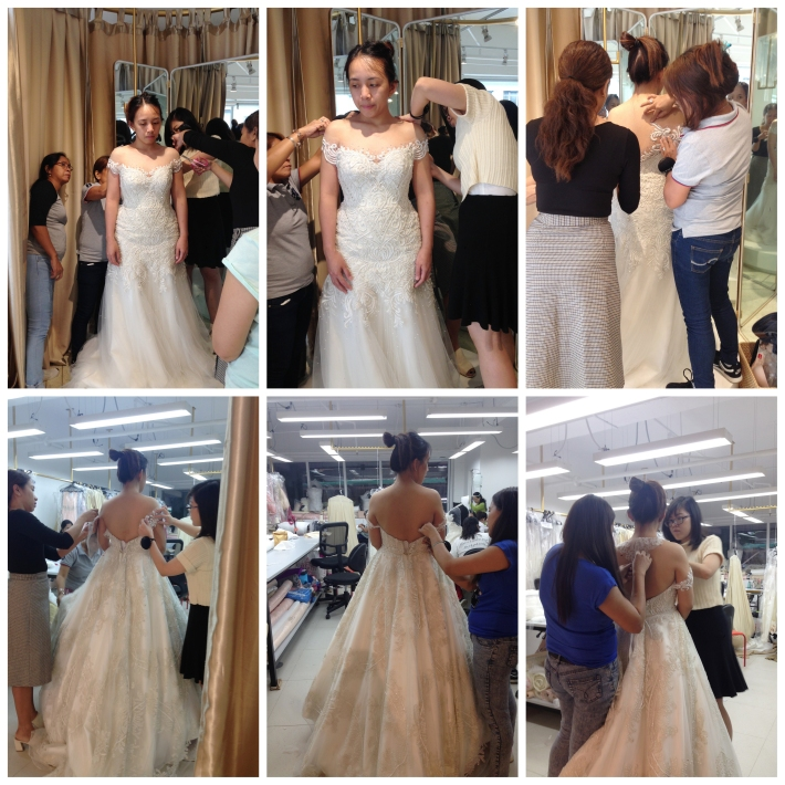 Gown 3rd Fitting