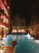 Hotel's outdoor amenities