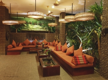 Lobby area of Golden Temple Hotel
