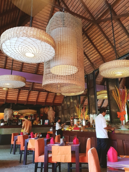 Restaurant area where the breakfast buffet is always served from 6:30 AM to 10 AM