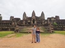 Front view of Angkor Wat
