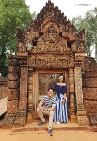 The beautiful structures of Banteay Srie