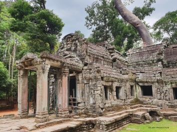 Entrance to the Ta Prohm