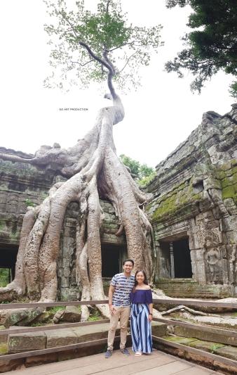 The famous Tomb Raider Bayan tree