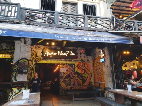 Another famous restaurants in Pub Street offering delectable dishes and cheap beer